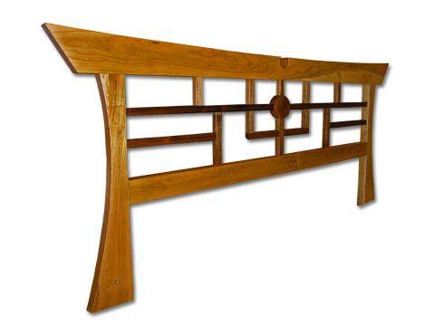 Asian style headboard