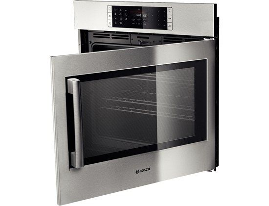 Bosch 30 Single Wall Oven Right Swing Door Benchmark Series