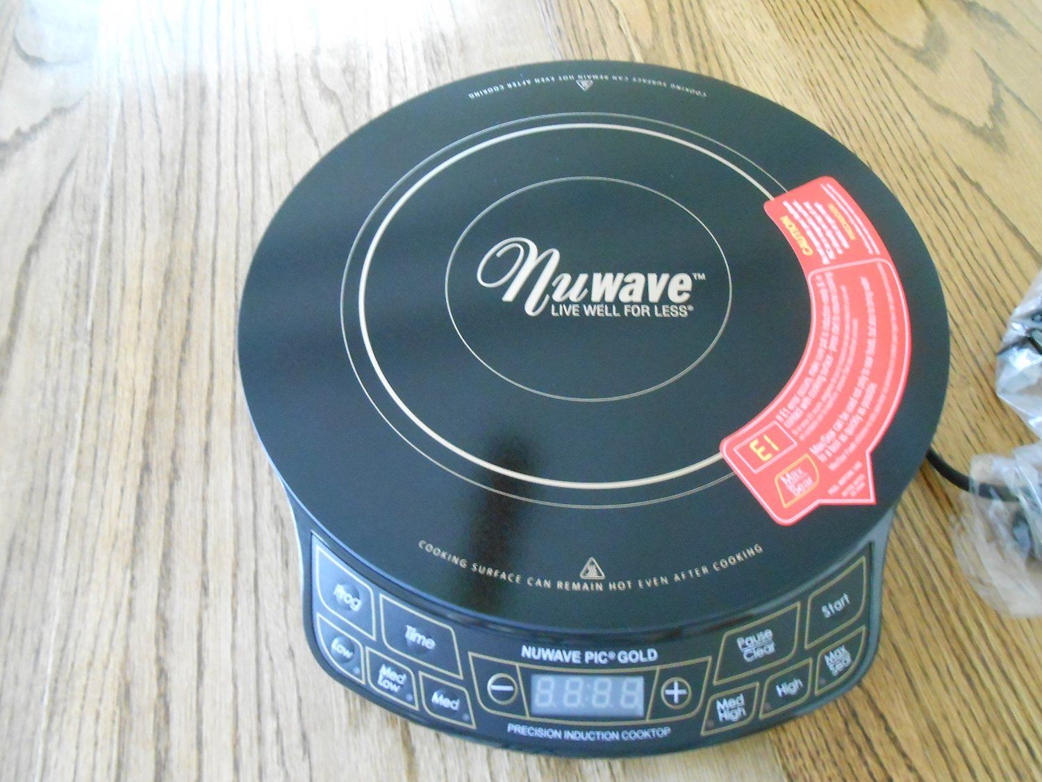 Nuwave Pic Gold 1500 Making Your Life Easier Portable Induction Cooktop Induction Cooktop Cooktop Nuwave