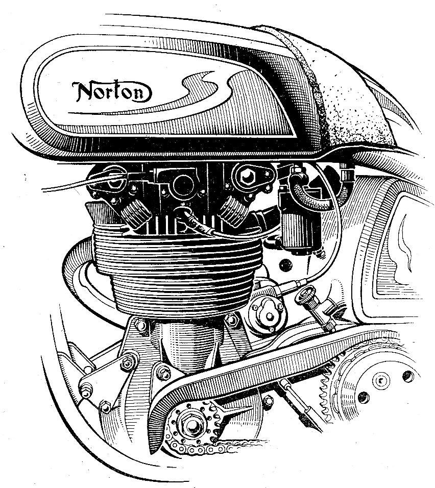 Line Illustration http://www.classic-motorrad.de/galerie ...