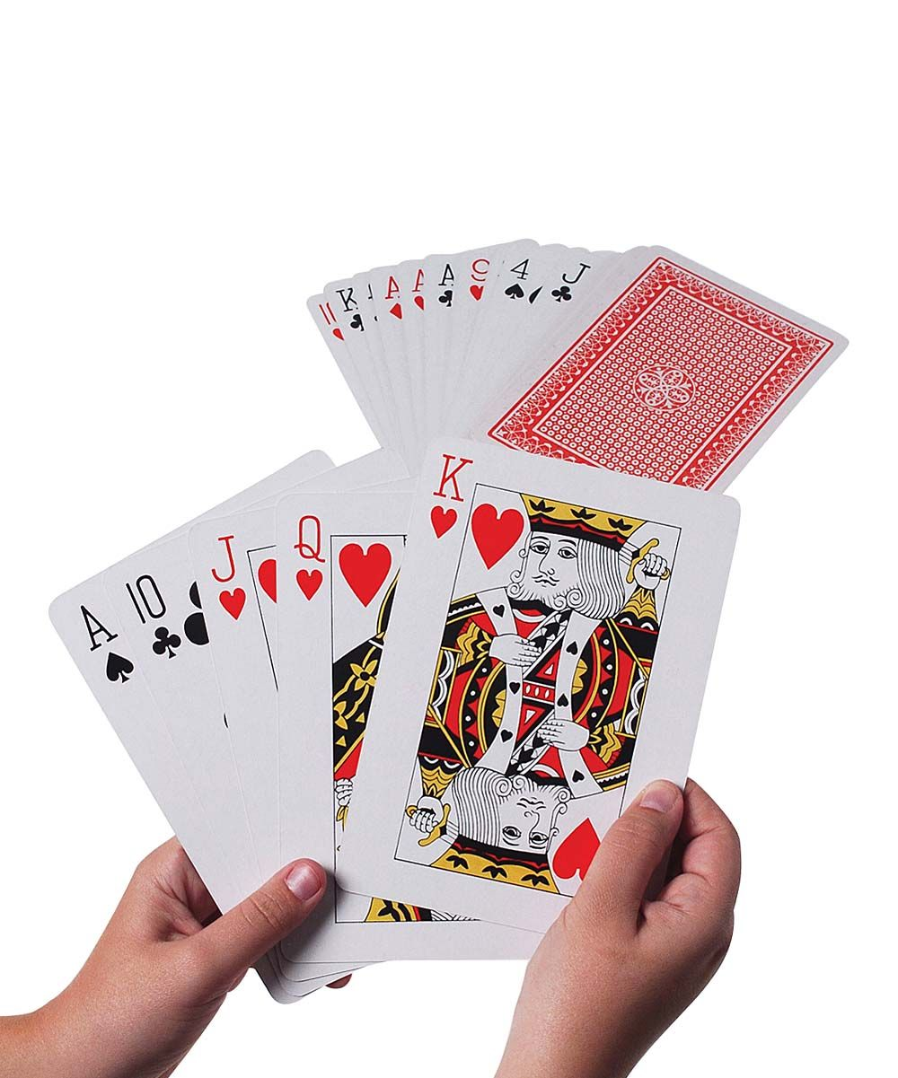 Giant Playing Cards - Set of Two | Playing cards and Products