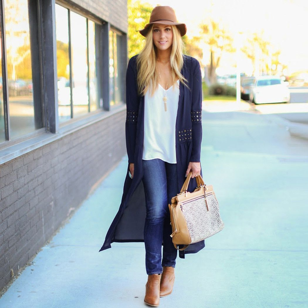 Navy Blue Duster | Outfits | Pinterest | Dusters, Navy blue and Navy