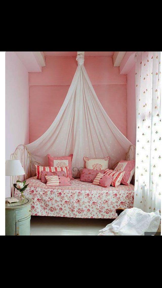 Sooo cute and pink Habitaciones Pinterest Bedrooms, Room ideas