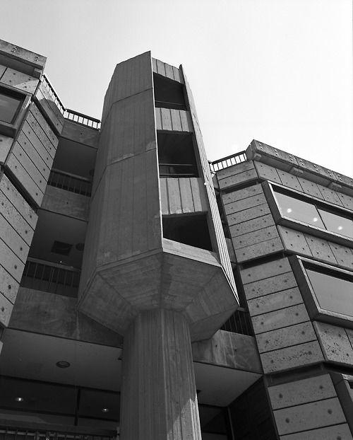 University Centre, Cambridge, Howell, Killick, Partridge and Amis, 1967  Photo: Simon Phipps