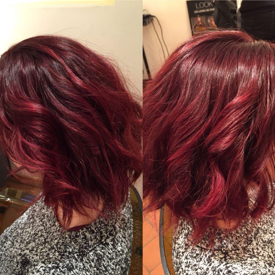 Rouge Carmilane Coiffure Coloration
