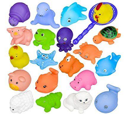 10pcs Juguete Bano Bebe Juguetes Animados Con Sonidos Toy