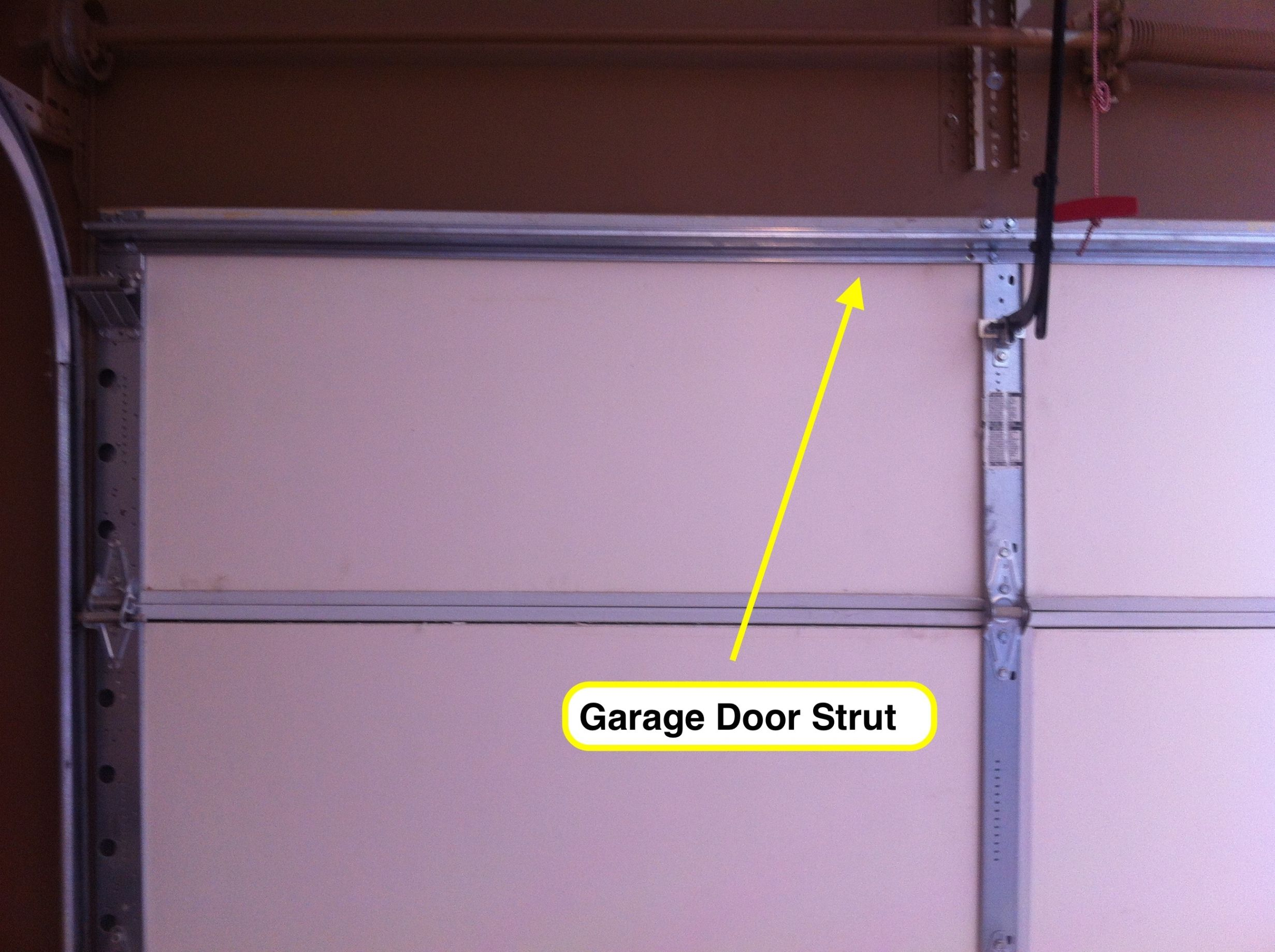 Tips How To Install Garage Door Struts Design For Your Garagedeur Garage Lowes