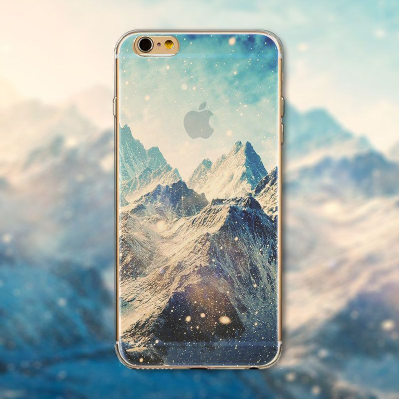 For iPhone 5C Case New Design Beautiful Ultra Thin TPU Transparent Cover For iPhone 6S/6 Plus SE 4S 5S Funda Coque Capinha