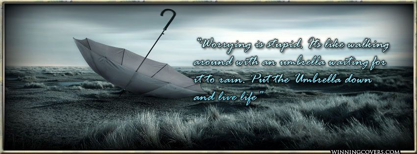 Inspirational Facebook Timeline Covers | Rain Quotes timeline covers : Sad Girl Quotes Timeline Cover for your ...