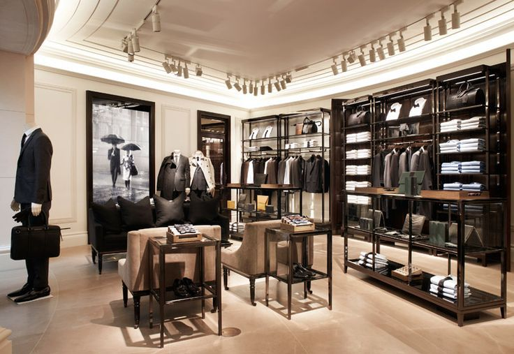 Burberry mens store london men 39 s fashion men s - Men s clothing store interior design ideas ...
