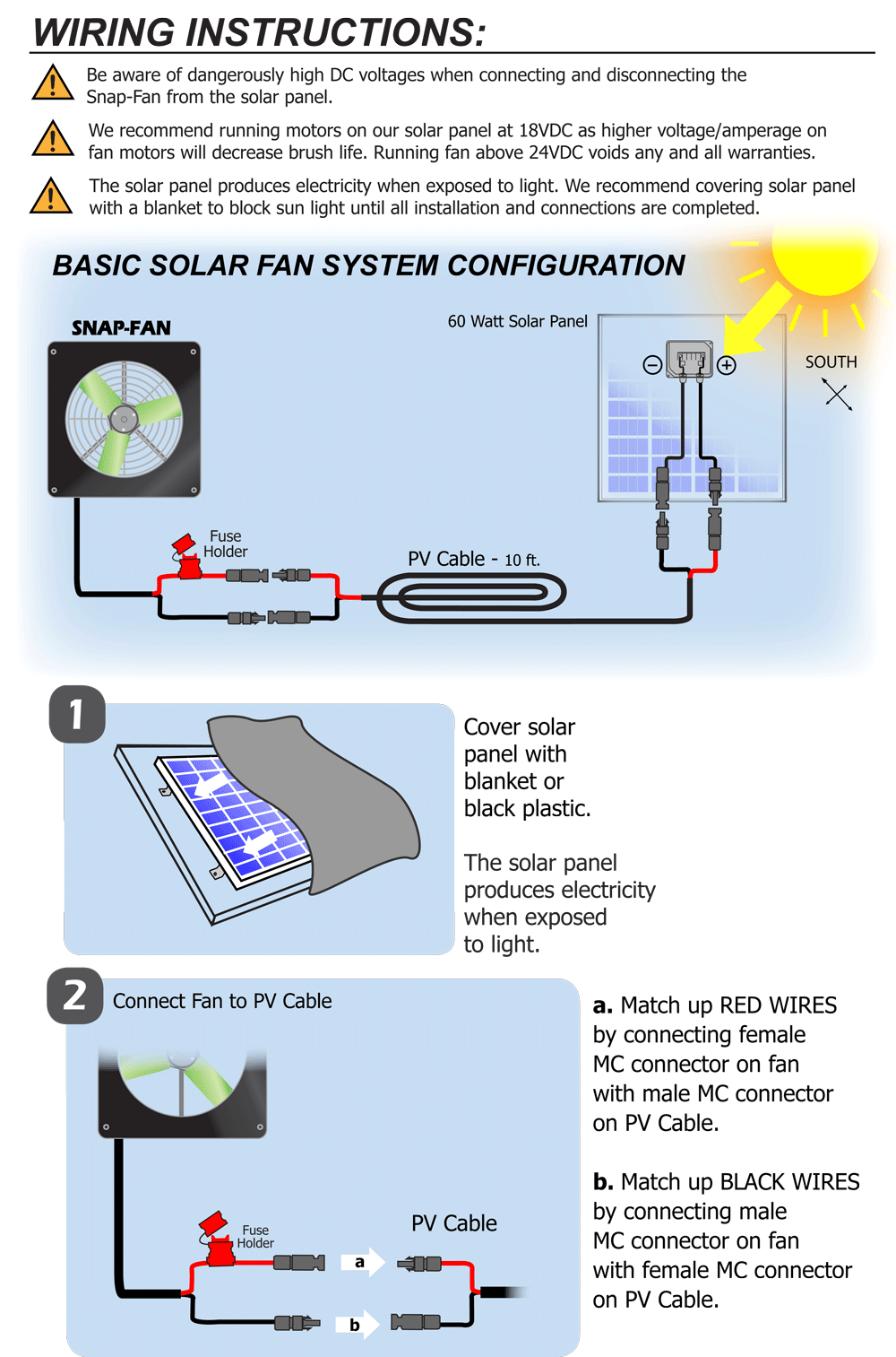 small resolution of solar powered greenhouse fan from snapfans com wiring instructions