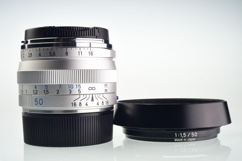 MINT Carl Zeiss C Sonnar T 50mm f/1 5 ZM for Leica M mount | Lenses