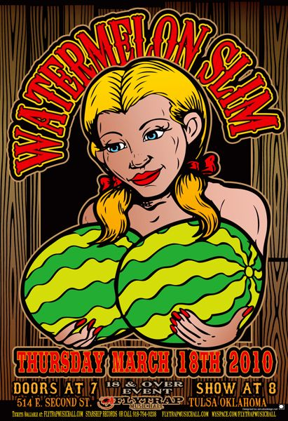 GigPosters.com - Watermelon Slim