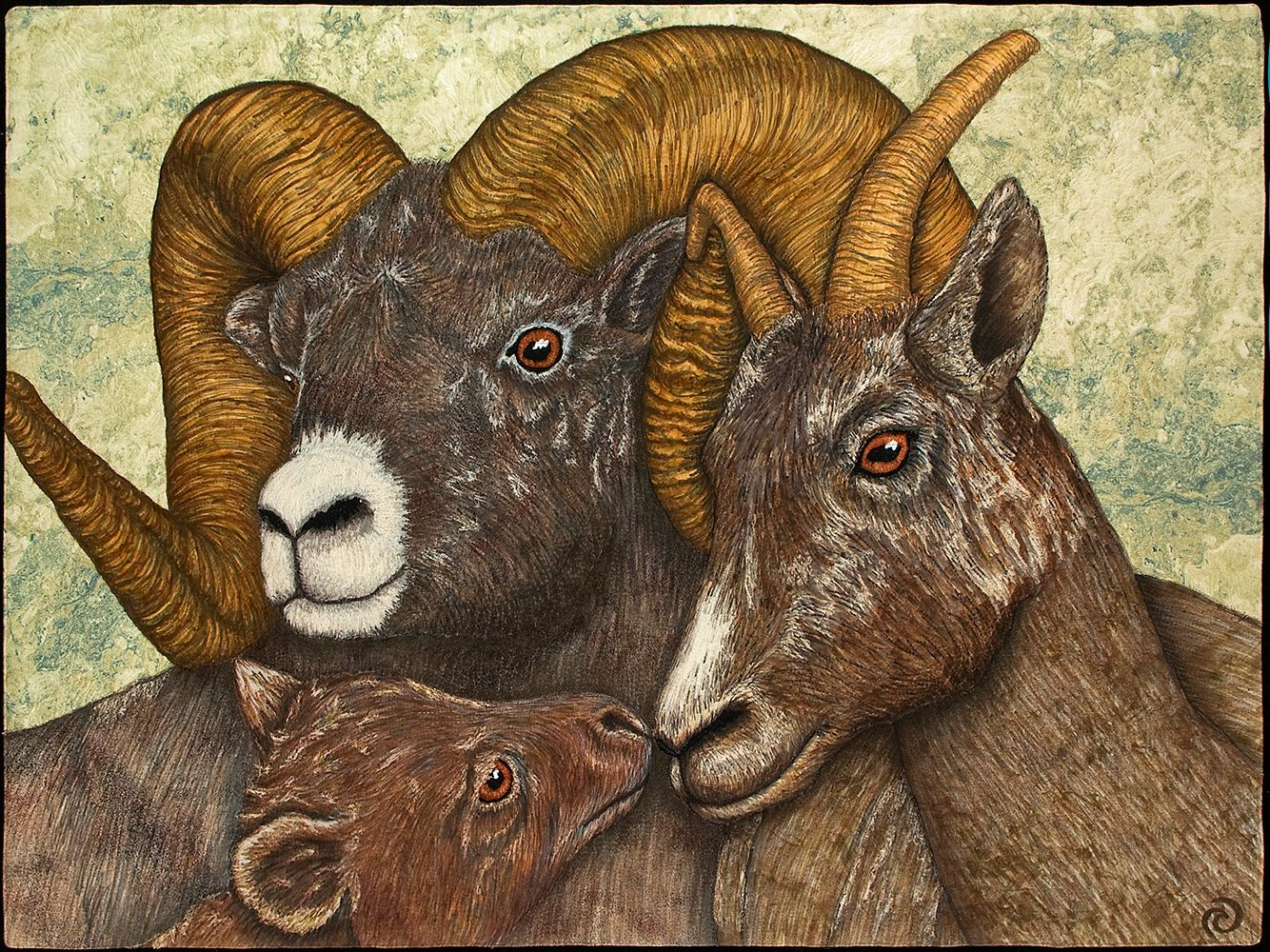 Bighorn Sheep - Rhonda Denney FRCQ | Animal Quilts | Pinterest | Sheep : big horn quilts - Adamdwight.com