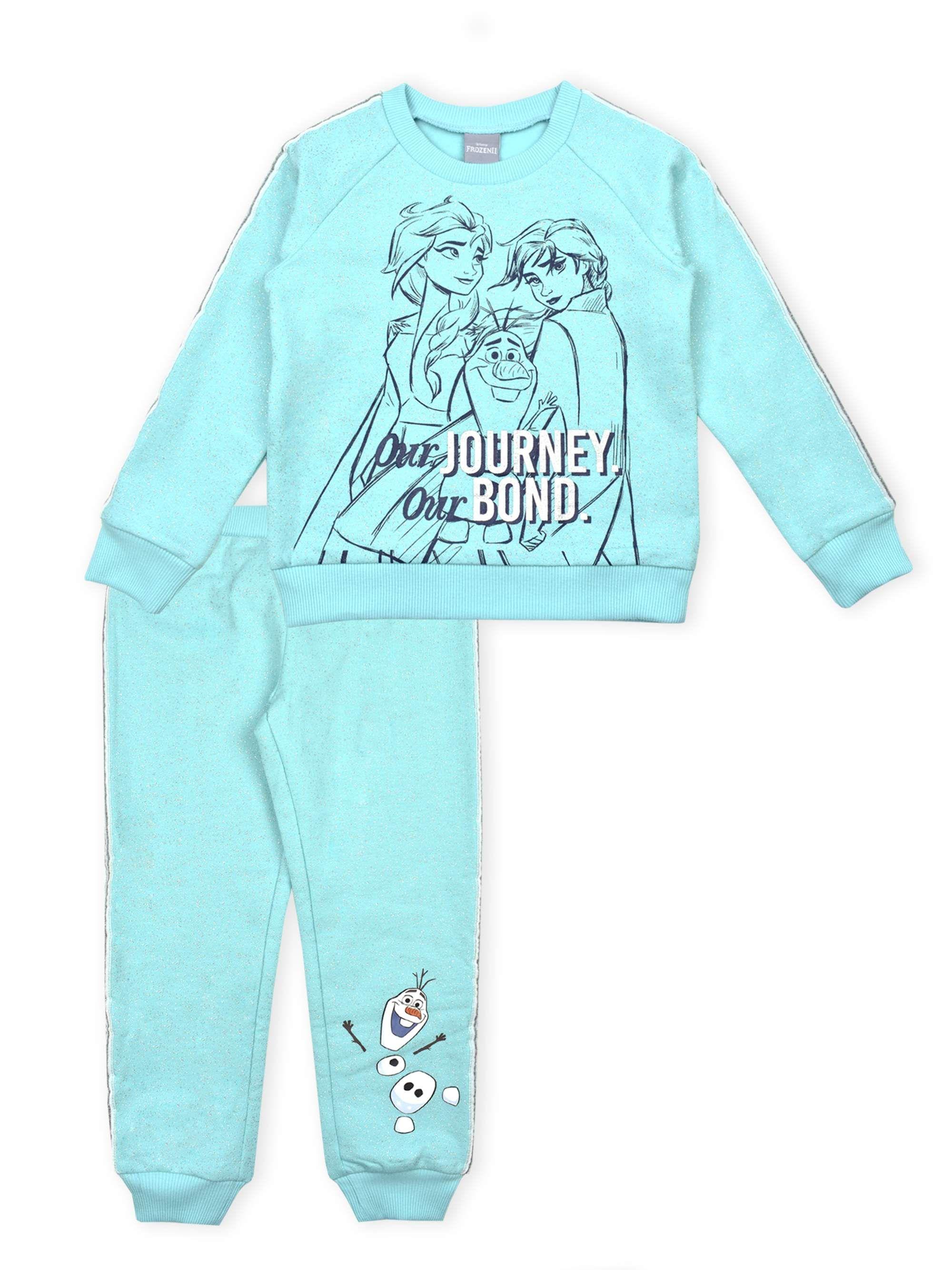 Frozen 2 Disney Frozen 2 Anna Elsa Toddler Girl Glitter Racer Stripe Sweatshirt Jogger Pants 2pc Outfit Set Walmart Com Striped Sweatshirts Big Girl Clothes Kids Fashion Inspiration [ 2667 x 2000 Pixel ]