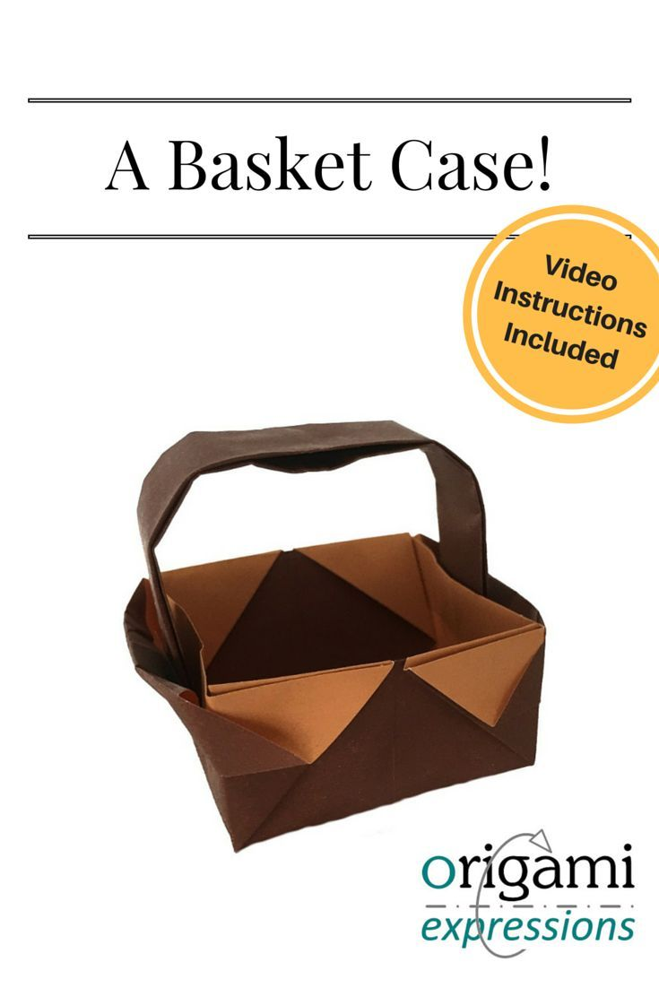 A Review Of The Traditional Origami Basket Model With An Instructional Video Showing How To