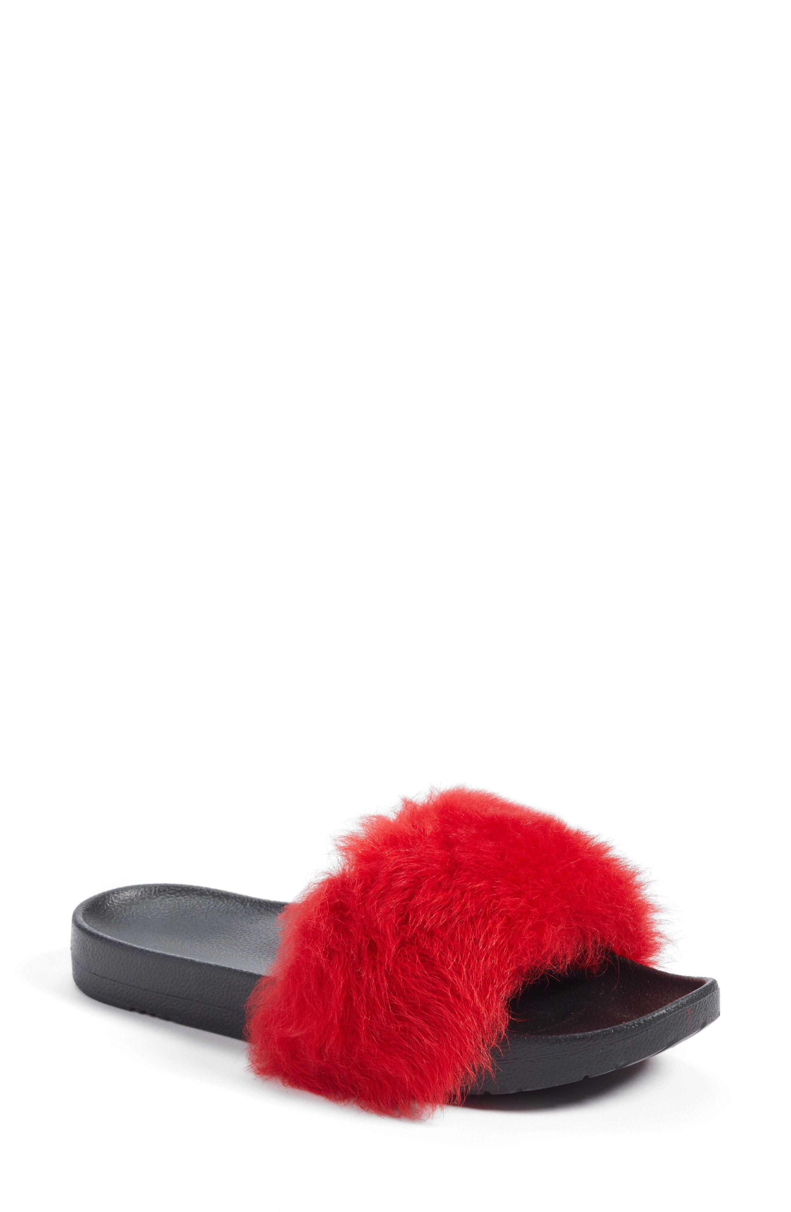 d26980ec11b UGG® Royale Genuine Shearling Slide Sandal available at #Nordstrom ...