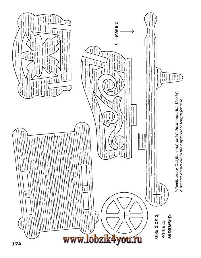 Художественное выпиливание .:. Classic Fretwork Scroll Saw Patterns ...