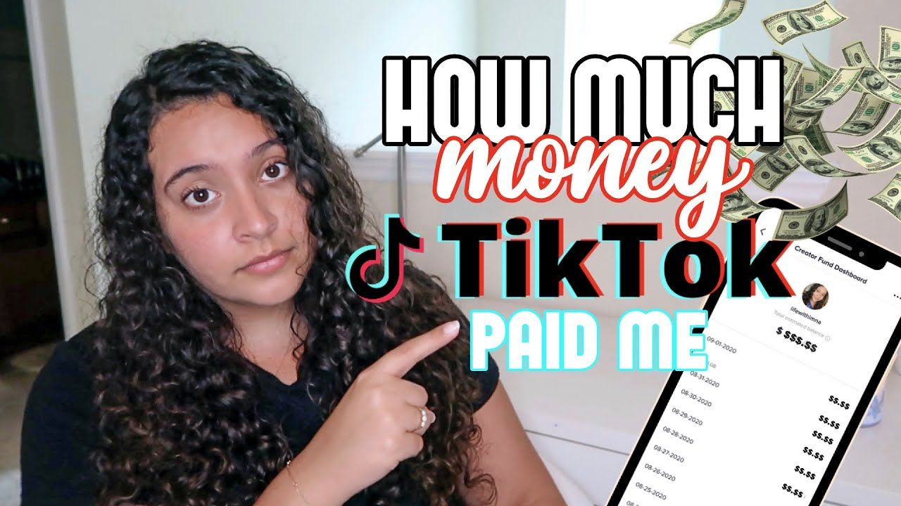 How Much Tiktok Paid Me For 4 000 000 Views How Much Money The Creator Fund Actually Pays Youtube Youtube Free Followers The Creator