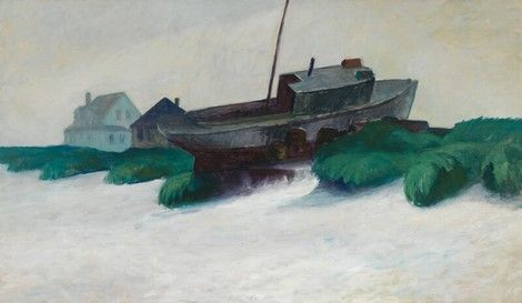 Edward Hopper Maine In Fog 1926 29 Edward Hopper