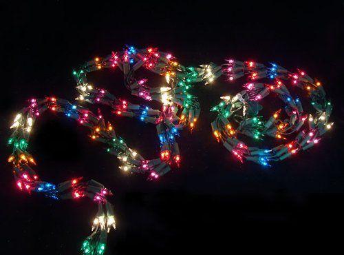 24 99 34 99 9 Christmas Light Garland With 300 Multi Mini Lights Green Wire Christmas Light Garland Item V104000 Features Color Christmas Lights Garland Christmas Lights Indoor Christmas Lights
