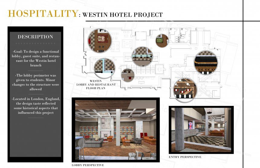 Portfolio Design Examples Interior Student And Architecture