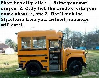 Short Bus Lol With Images Short Bus Bus Bus Humor