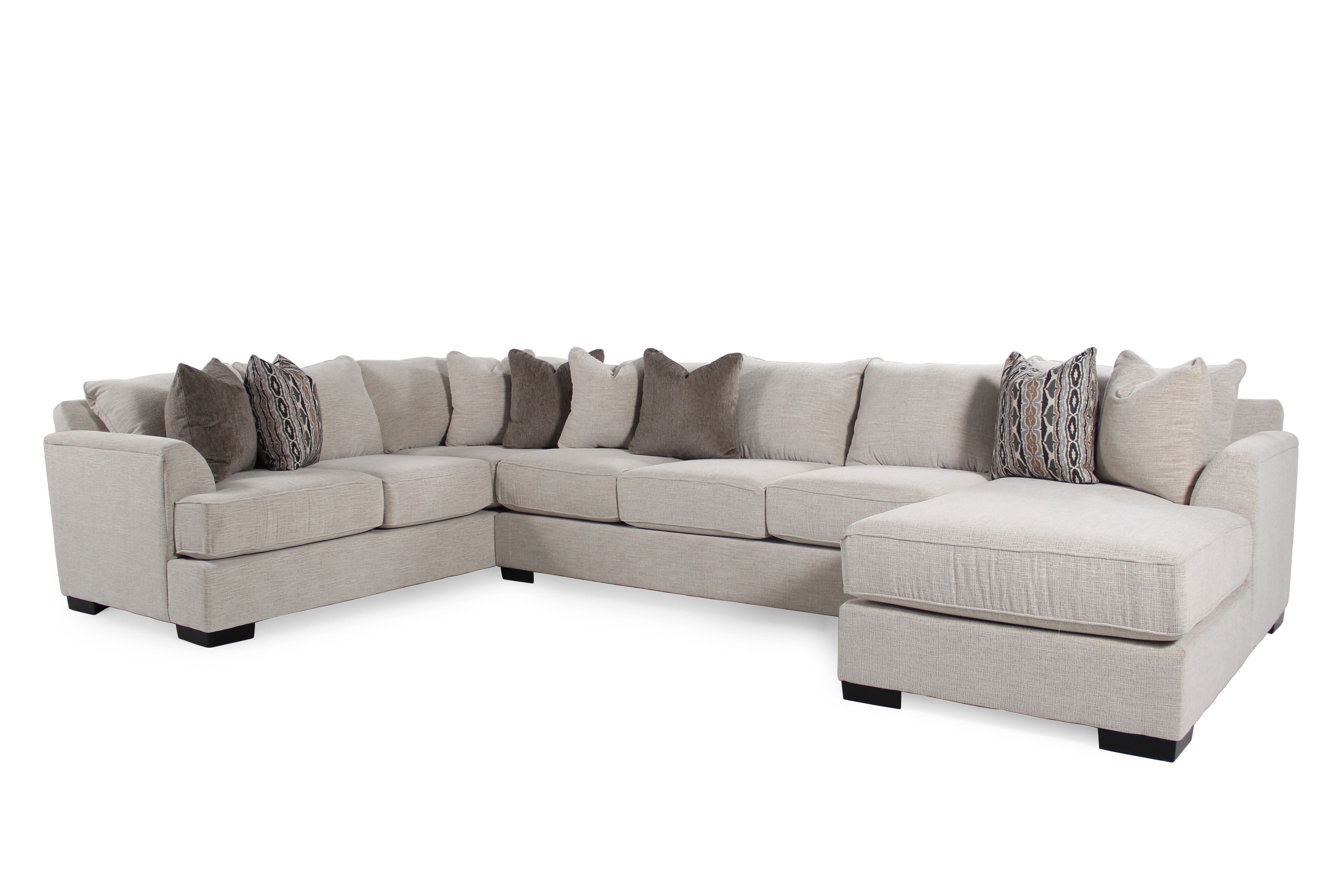 Michael Nicholas Fortune Three Piece Sectional Mathis Brothers