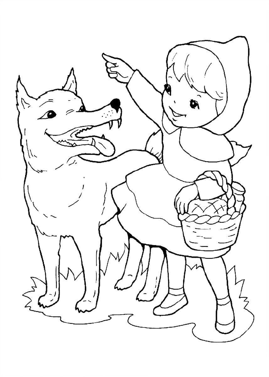 desenho chapeuzinho vermelho colorir imprimir 5 jpg 857 1200