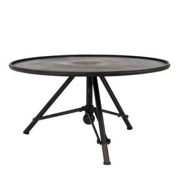 Table basse acier vintage Brok Dutchbone style loft industriel et ...