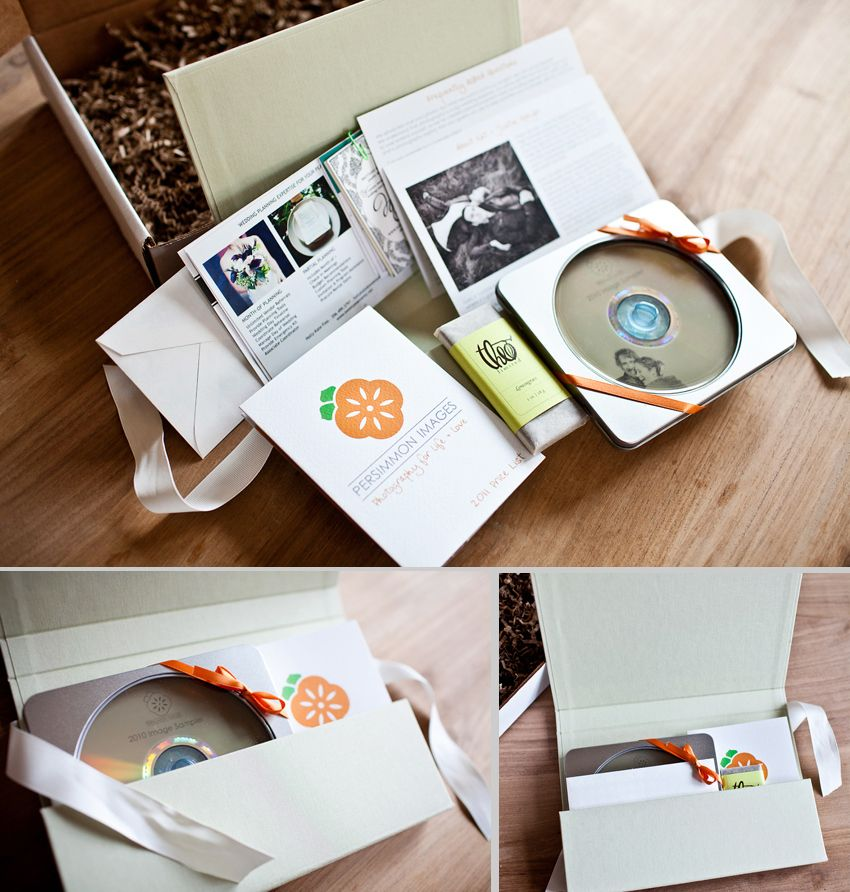 Persimmon Images Wedding Photography Client Packaging