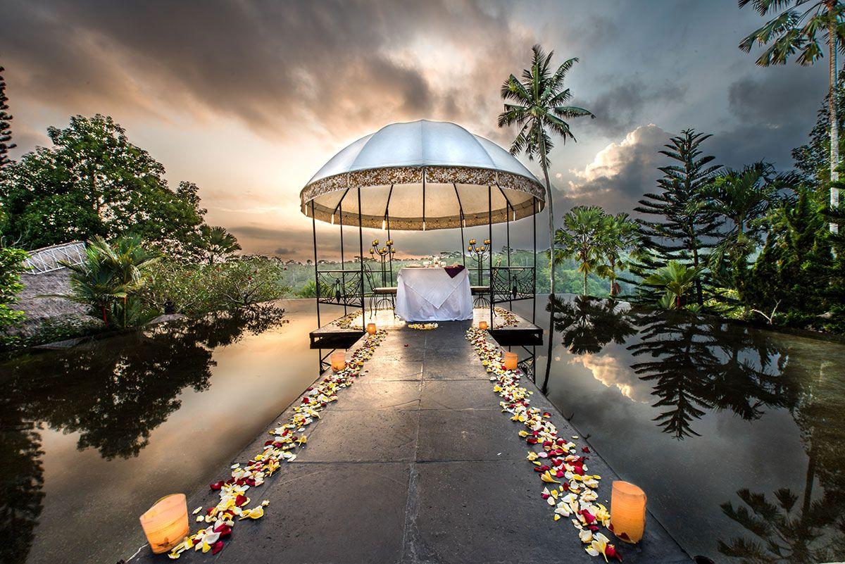 reflectionpond1 (With images) Ubud, Wedding ceremony