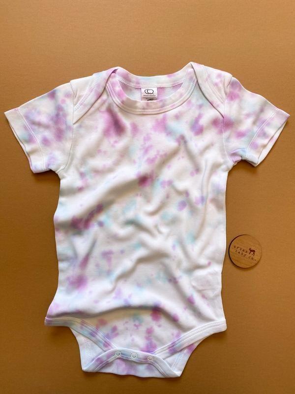 Tie Dye 12 Month Organic Onesie