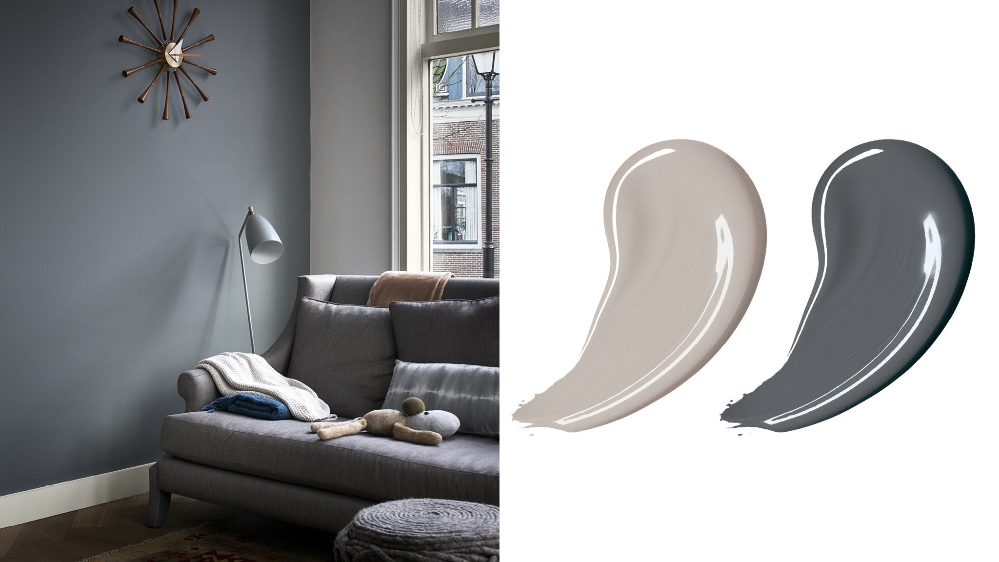 A Stylish Grey Colour Scheme By Dulux Malaysia Whistle Top