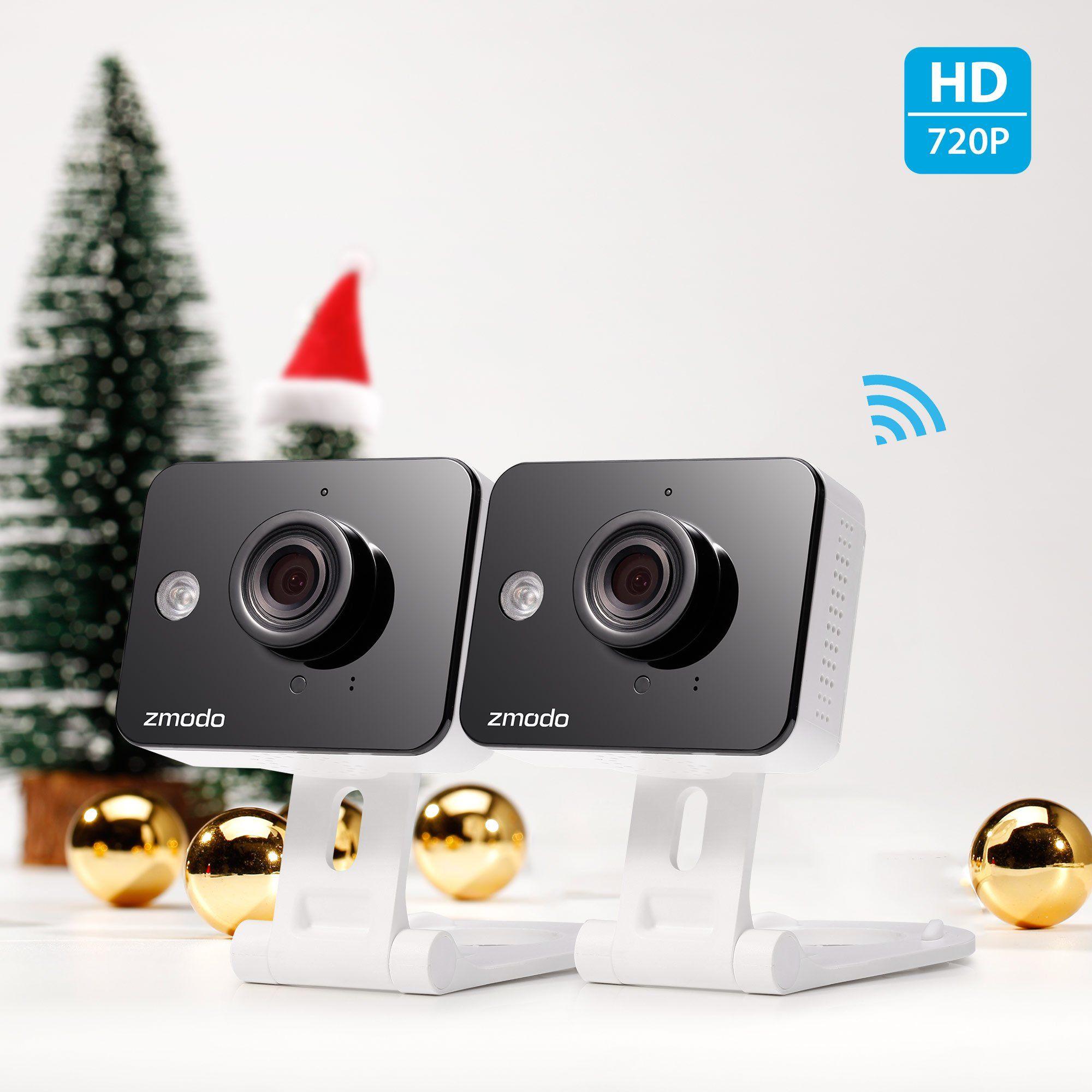 Zmodo 720p HD WiFi Wireless Smart Security Camera TwoWay