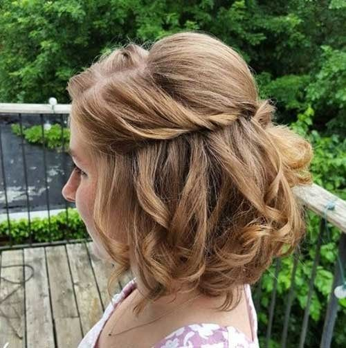 Simple Short Hairstyles For Pretty Women Short Wedding Hair Hair Styles Thick Hair Styles