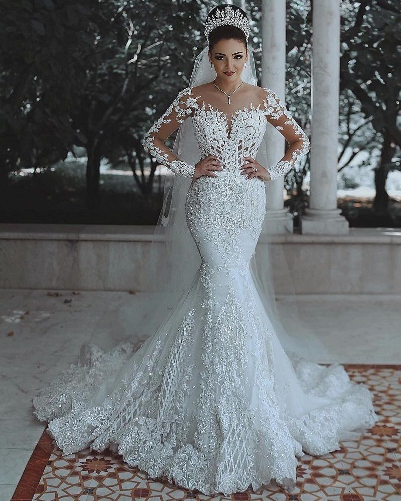 41 Incredibly Gorgeous Mermaid Wedding Dresses With