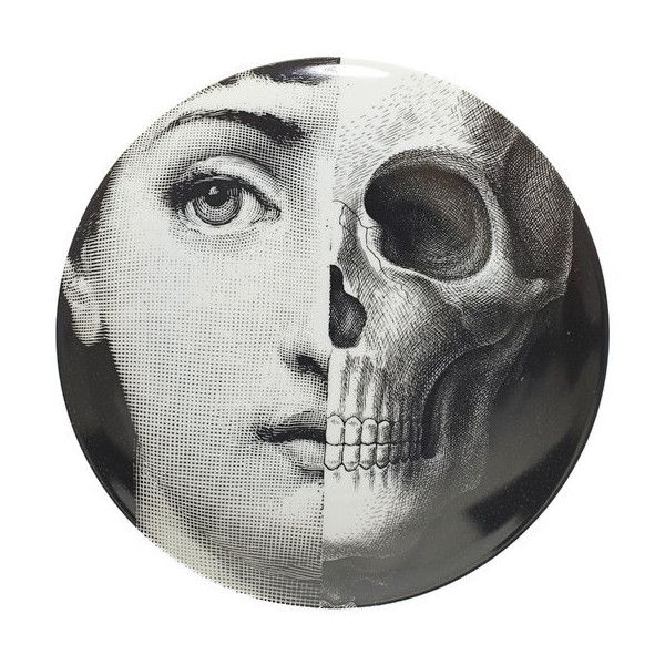 Fornasetti Theme u0026 Variations Decorative Plate at Barneys New York  sc 1 st  Pinterest : decorative face plates - pezcame.com