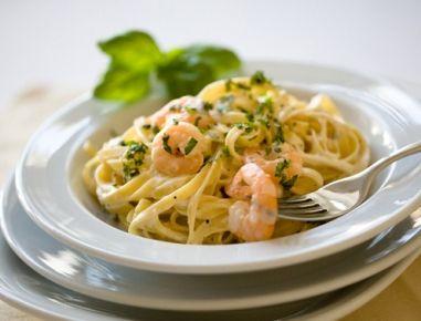 Tagliatelle+mit+Shrimps