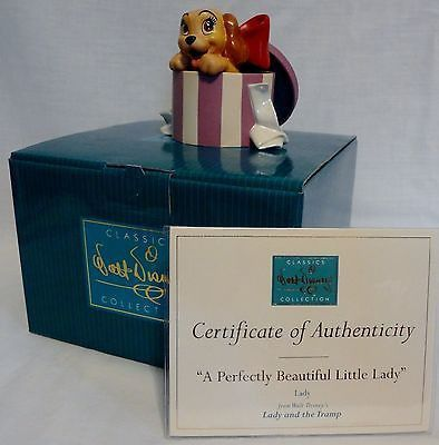 Disney Lady And The Tramp A Perfectly Beautiful Little Lady WDCC MIB C – Piece by Piece Collectibles