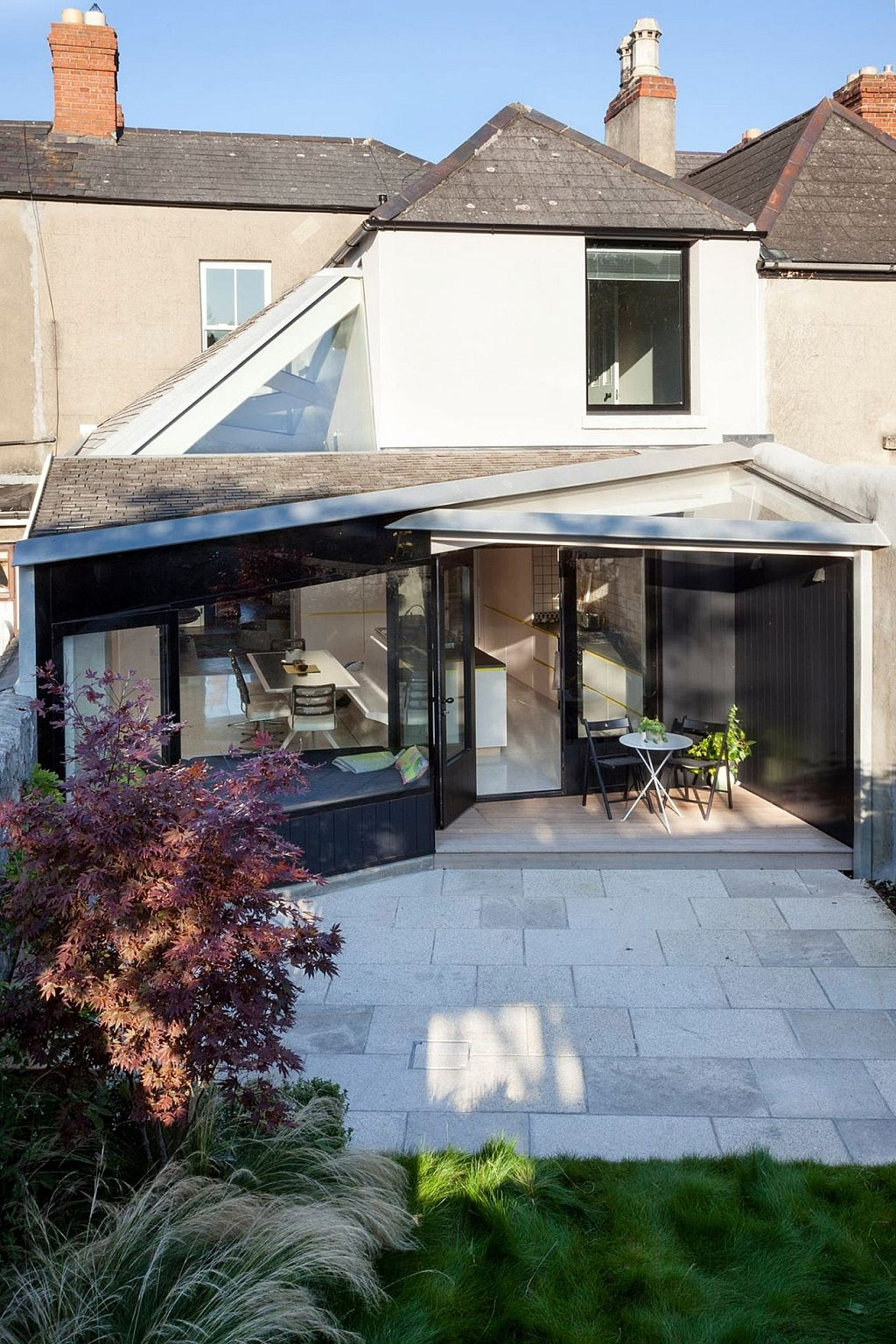 A Dramatic Extension for a Victorian Home Victorian