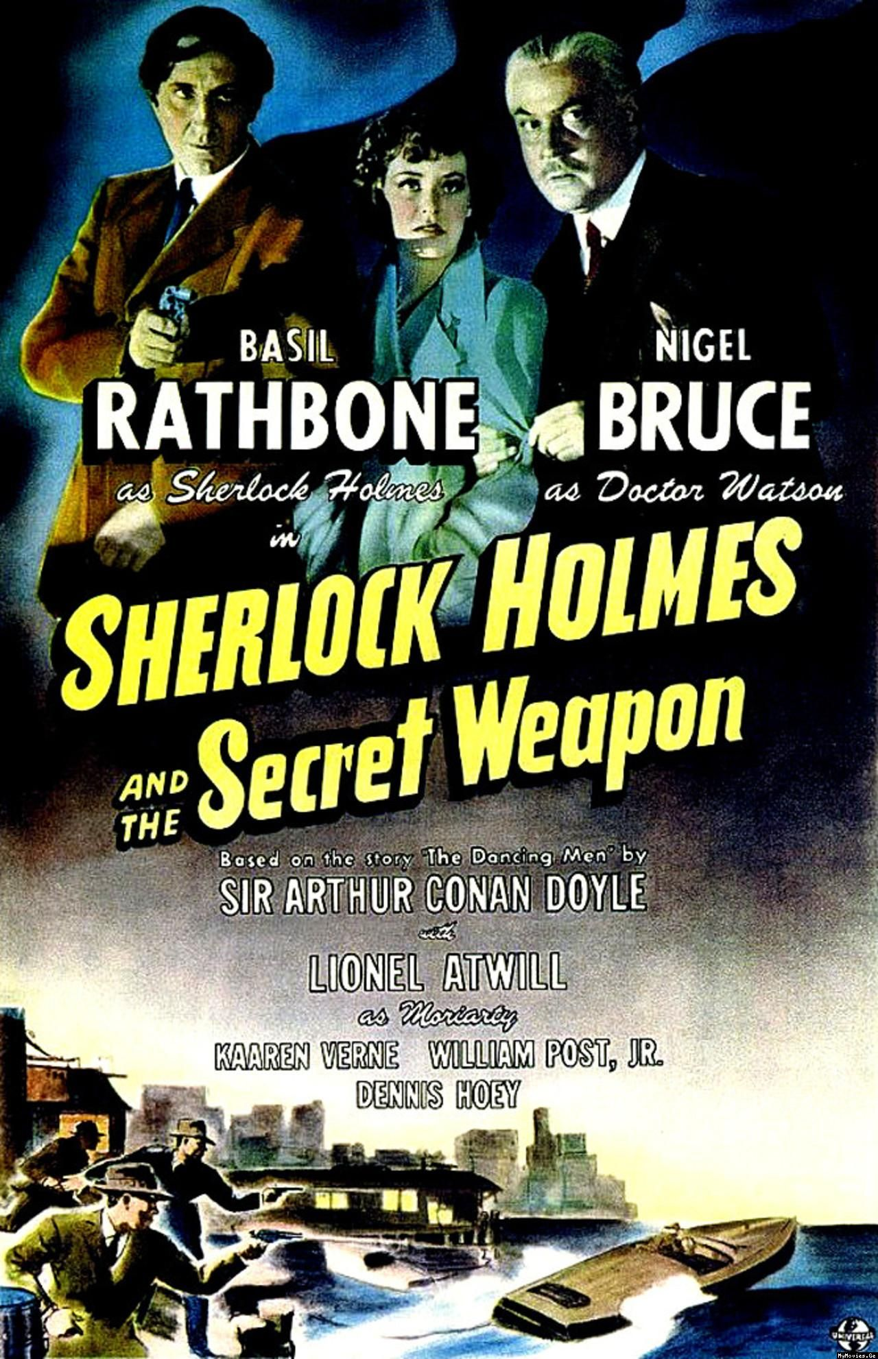 Download Sherlock Holmes and the Secret Weapon Full-Movie Free