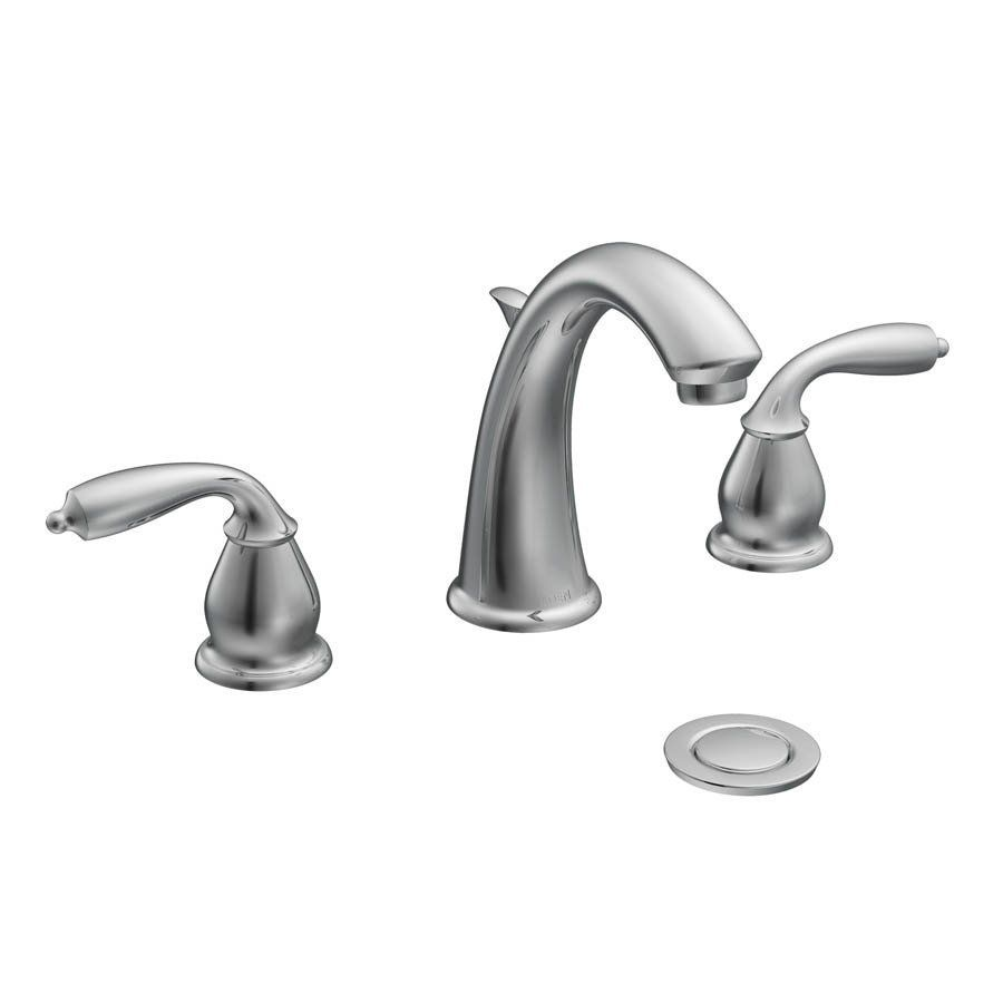 Shop Moen CA84294 Bayhill Widespread Bathroom Faucet at ...