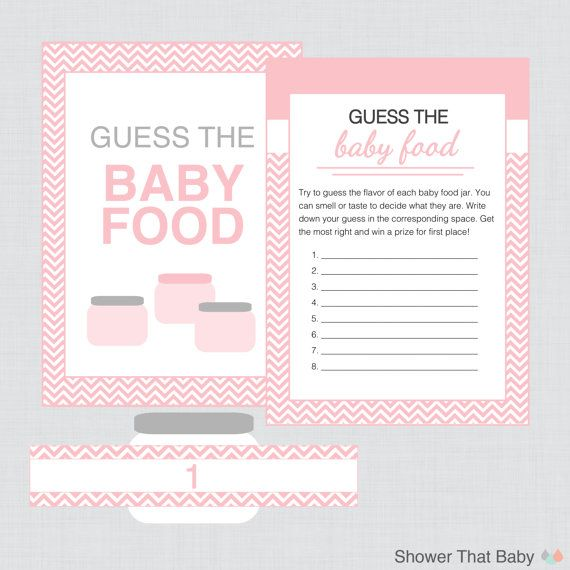 image regarding Guess the Baby Food Game Free Printable identify Red Kid Shower Boy or girl Food stuff Recreation - Printable Instantaneous Down load