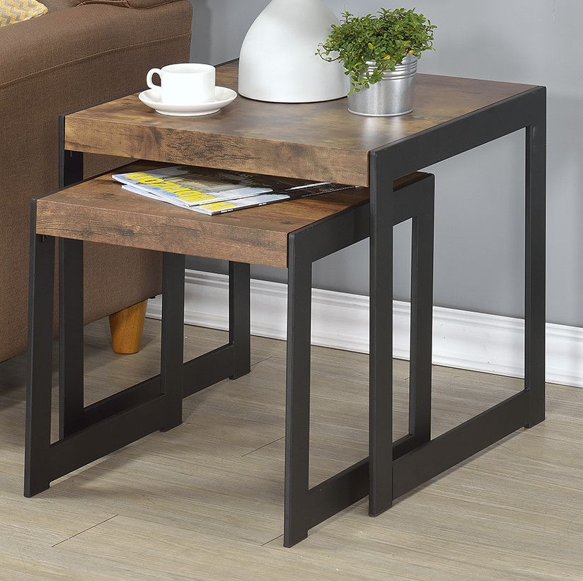 Millenial 2 piece nesting tables future home pinterest sofa end side tables watchthetrailerfo