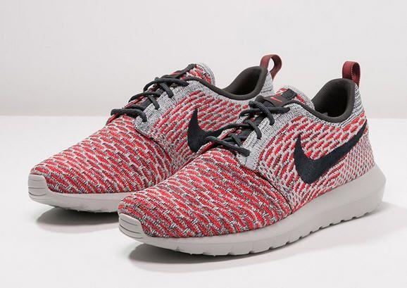 Nike Sportswear Flyknit Roshe Crimson One Baskets Basses Bright Crimson Roshe 327e13