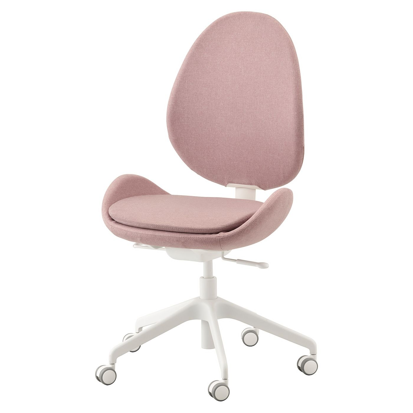 Ikea Hattefjall Gunnared Light Brown Pink Office Chair In 2020