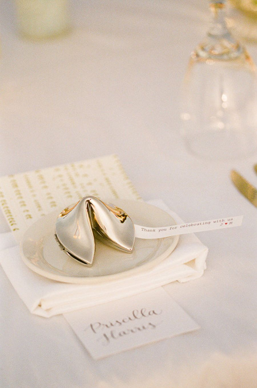 Gold Fortune Cookie Wedding Favors The Complete Guide To Picking Perfect Favour