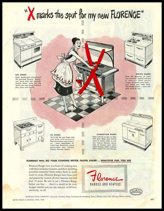 Florence Ranges Amp Heaters Vintage Appliances Light