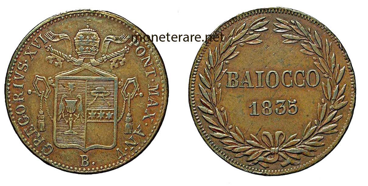 Moneta baiocco con stemma papale | Monet, Monete, Stemma